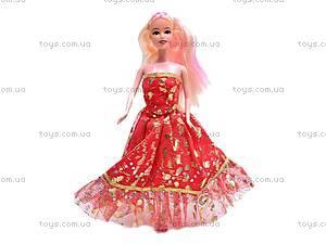 Кукла типа «Барби», с расческой, PV1639