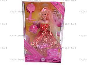 Кукла типа «Барби», с расческой, PV1639, игрушки