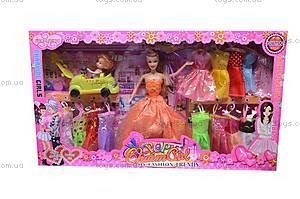 Кукла типа «Барби», с ребенком, 88002A, детские игрушки