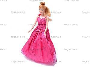 Кукла типа «Барби», с вечерним гардеробом, 83158, фото