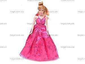 Кукла типа «Барби», с вечерним гардеробом, 83158