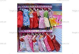 Кукла типа «Барби», с вечерними платьями, 9998C-3, купить