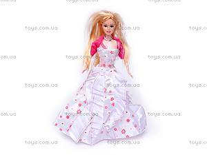 Кукла типа «Барби», со свадебным платьем, PV18681A