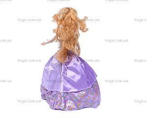 Кукла типа «Барби», в бальном платье, 83044, фото