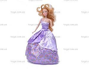 Кукла типа «Барби», в бальном платье, 83044, детские игрушки