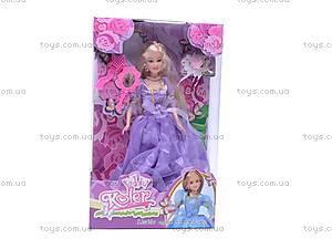 Кукла типа «Барби», в модном платье, OP488, цена