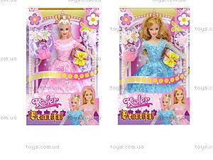 Кукла типа «Барби», в стильном платье, OP451-339