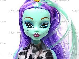 Кукла типа Monster High «Halloween», 244D, игрушки