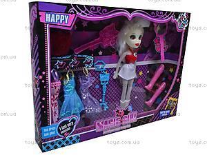 Кукла типа «Monster High» с аксессуарами, 913A, магазин игрушек