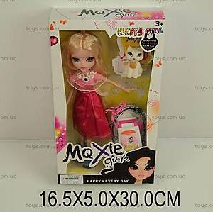 Кукла типа «Moxie» с кошечкой, 318A