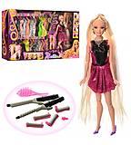 Кукла типа Барби-парикмахер шарнирная, 68032, купить
