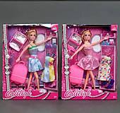 Кукла типа Барби путешественница, 66197, купить