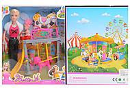 Кукла типа Барби с персонажами, 68015