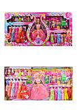 Набор кукол по типу Барби с одеждой, 2258E-2, фото