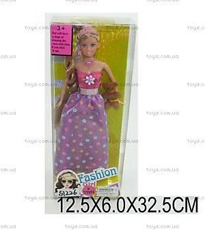 Кукла типа «Барби» с плюшевым мишкой, 60635Y-1