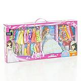 Кукла типа Барби с разными нарядами в коробке, AT675B