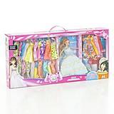 Кукла типа Барби с разными нарядами в коробке, AT675B, фото