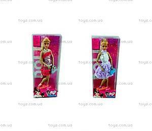 Кукла типа «Барби» с сумочкой, в платье, 60634AJ-2