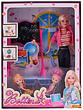 Кукла типа «Барби - Учительница» с куколками, 68017, фото