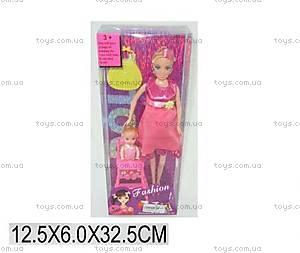 Кукла типа Барби беременная, с ребенком, 60632WP