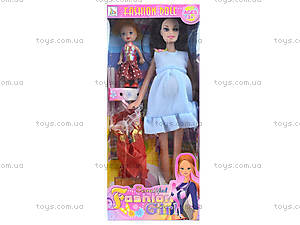 Детская кукла типа «Барби», беременная, 2009D, доставка