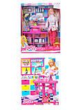 Кукла Барби Доктор с пупсиком, 2 вида, JX600-52, купить