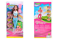 Барби Гимнастка 6 видов, в спортивной одежде, LS20166AB