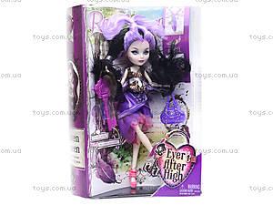 Кукла типа Ever After High с аксессуарами, 8007B, детские игрушки