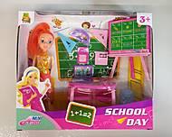 Кукла-учитель в школе с аксессуарами, 928B