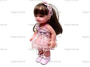 Кукла, в платье, 2010-8D, детские игрушки