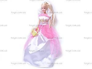 Кукла, в свадебном платье, 89085, фото