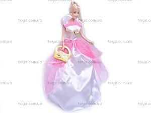 Кукла, в свадебном платье, 89085, игрушки