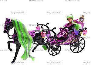 Кукла-вампир, с каретой и лошадью, 301046/1-3, отзывы