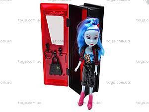 Кукла-вампир со шкафом, 3010111-6, фото