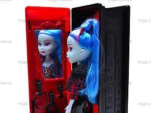 Кукла-вампир со шкафом, 3010111-6, игрушки