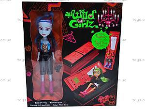 Кукла-вампир со шкафом, 3010111-6, детские игрушки