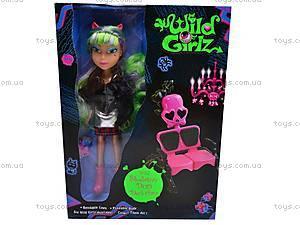 Кукла-вампир Wild Girlz, 3010171-6, игрушки