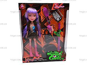 Кукла-вампир Wild Girlz, с аксессуарами, 301005/1-6, игрушки