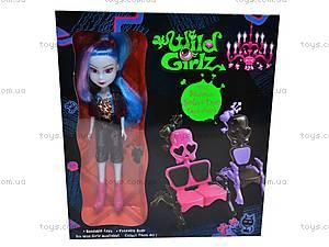 Кукла-вампир Wild Girlz, в футляре, 3010131-6, игрушки