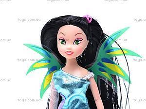 Кукла Винкс «Фея», с крыльями, 99016, детские игрушки