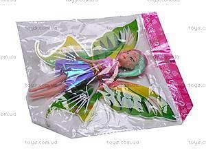 Кукла «Винкс», с крыльями, DM-33B, игрушки