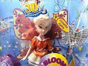 Кукла Winx Bloom, с аксессуарами, WX795-6, магазин игрушек