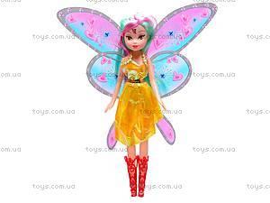Кукла Winx «Фея», с крыльями, DM-33A, игрушки