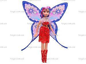 Кукла Winx «Фея», с крыльями, DM-33A, детские игрушки