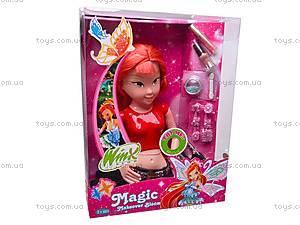 Кукла Winx с косметикой, 813, магазин игрушек