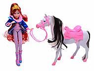 Кукла Винкс с лошадью, 827, купить