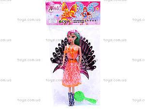 Кукла Winx, с расческой, DM-36061E, игрушки