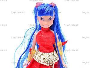 Кукла «Winx» в колбе, 9968A/C/D/E/F, игрушки