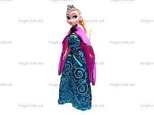 Детская кукла «Эльза», WQ1409ABC, отзывы