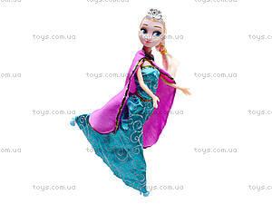 Детская кукла «Эльза», WQ1409ABC, цена